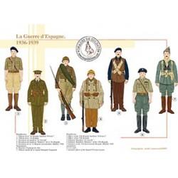 La Guerre d'Espagne, 1936-1939