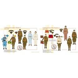 L'Infanterie de la ligne Maginot (2 et 3), 1935-1940