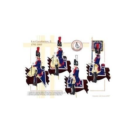 Les Carabiniers (2), 1791-1803