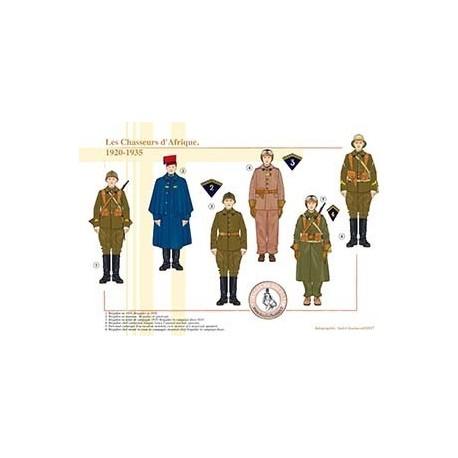 Les Chasseurs d'Afrique, 1920-1935
