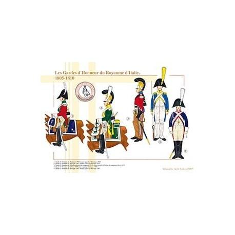 Les Gardes d'Honneur du Royaume d'Italie, 1805-1810