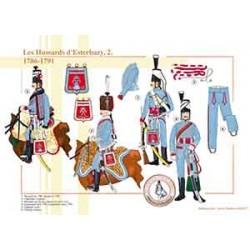 Les Hussards d'Esterhazy (2), 1786-1791