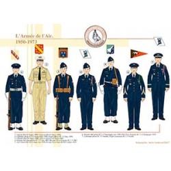L'Armée de l'Air, 1950-1973