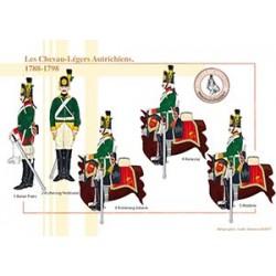 Les Chevau-Légers Autrichiens, 1788-1798