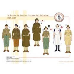 Le Service de Santé de l'Armée de Libération, 1943-1945