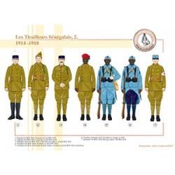 Les Tirailleurs Sénégalais (2), 1914-1918