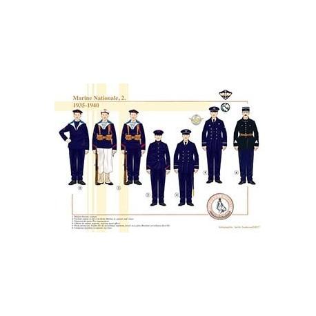 Marine Nationale (2), 1935-1940