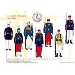 La Légion Etrangère, 1880-1910