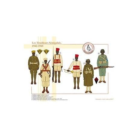 Les Tirailleurs Sénégalais, 1942-1945