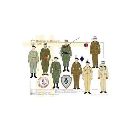 3ème Régiment de Hussards, 1965-1980