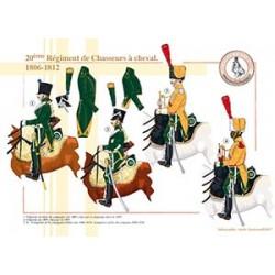 20ème Régiment de Chasseurs à Cheval, 1806-1812