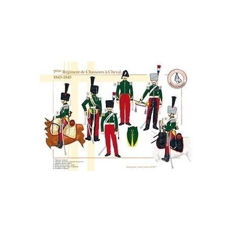 7ème Régiment de Chasseurs à Cheval, 1843-1845