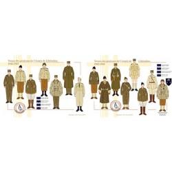 Tenues des généraux de l'Armée de Libération, 1942-1945