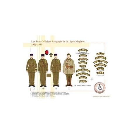 Les Sous-Officiers Rengagés de la Ligne Maginot, 1935-1940