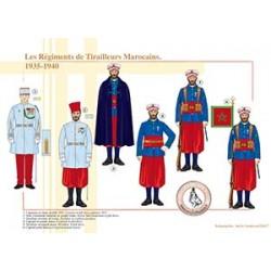 Les Régiments de Tirailleurs Marocains, 1935-1940