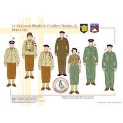 Le Régiment Blindé de Fusiliers Marins (2), 1944-1945