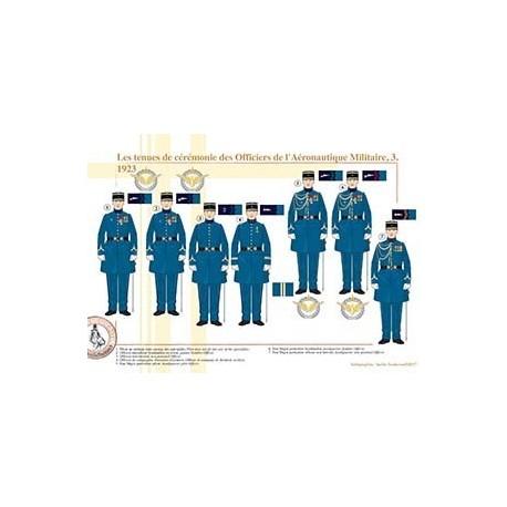 Les tenues de cérémonie des Officiers de l'Aéronautique (3), 1923