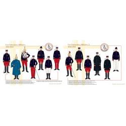 Les Cuirassiers, Officiers (1 et 2), 1910-1914