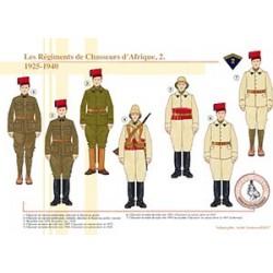 Les Régiments de Chasseurs d'Afrique (2), 1925-1940