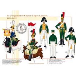Le 2ème régiment de Chevau-Légers Lanciers, 1811-1815