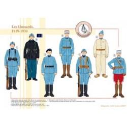 Les Hussards, 1919-1930