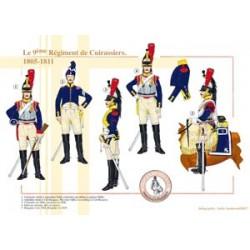 Le 9ème Régiment de Cuirassiers, 1805-1811