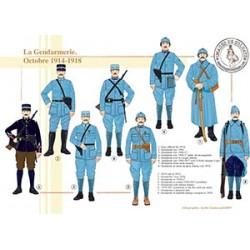 La Gendarmerie, octobre 1914-1918