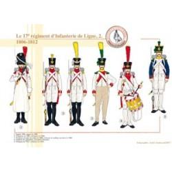 Le 17ème Régiment d'Infanterie de Ligne (2), 1806-1812