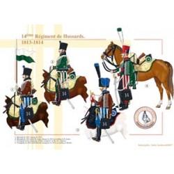14ème Régiment de Hussards, 1813-1814