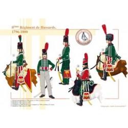 8ème Régiment de Hussards, 1796-1800