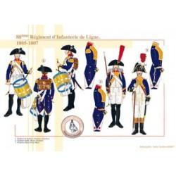 88ème Régiment d'Infanterie de Ligne, 1805-1807