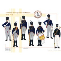 Artillerie des Königreichs Preußen, 1813-1815