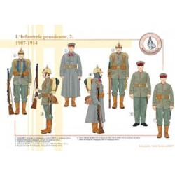 The Prussian Infantry (2), 1907-1914