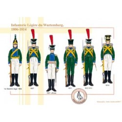 Infanterie Légère du Wurtemberg, 1806-1814