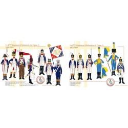 Das 8. Linie Infanterie-Regiment, 1806-1815 (2 und 3)