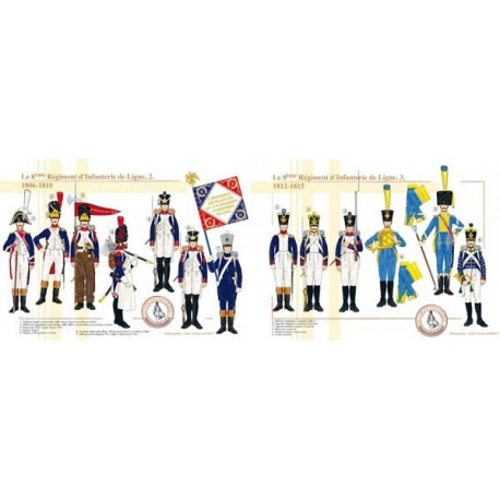 The 8th Line Infantry Regiment, 1806-1815 (2 and 3)