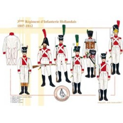The 3rd Dutch Line Infantry Regiment, 1807-1812