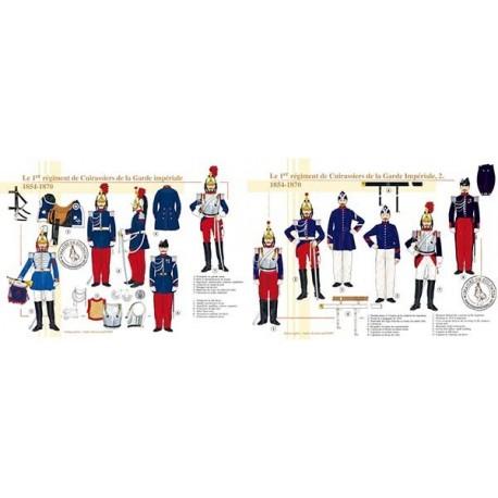 Le 1er régiment de Cuirassiers de la Garde Impériale, 1854-1870