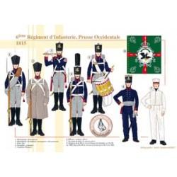 6. Infanterie-Regiment, Westpreußen, 1815