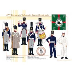 6th Infantry Regiment, West Prussia, 1815