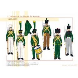 L'Infanterie du Duché de Nassau, 1810-1815