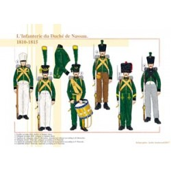 The Infantry of the Duchy of Nassau, 1810-1815