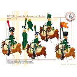 15ème Régiment de Chasseurs à Cheval, 1806-1812