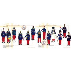 43rd Line Infantry Regiment (1 and 2), 1854-1858