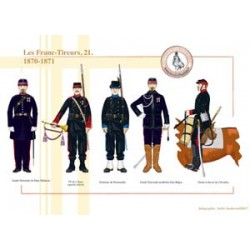 Les Franc-Tireurs (21), 1870-1871
