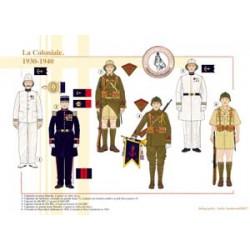 La Coloniale, 1930-1940