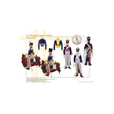 Les Dragons Légers Anglais, 1814-1815