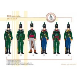 Englische rifles, 1814-1815