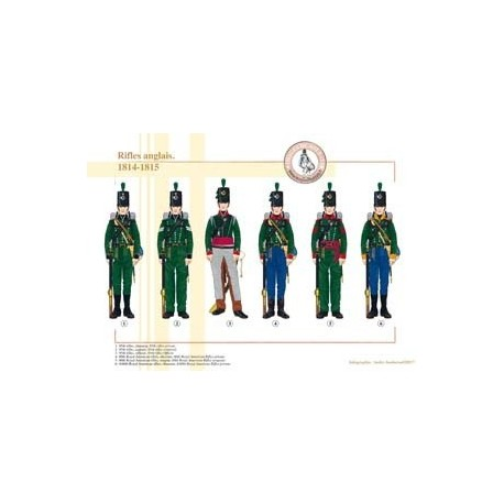 English rifles, 1814-1815