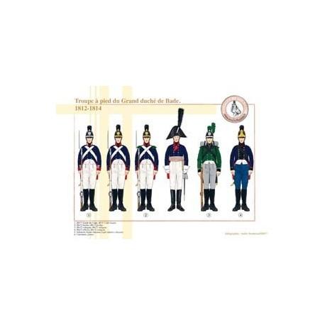 Foot troop of the Grand Duchy of Baden, 1812-1814